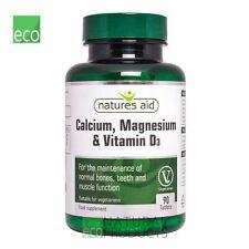 Natures Aid calcio, Magnesio & VITAMINA D3 90 compresse