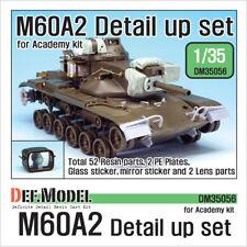 DEF. Model, DM35056, M60A2 Etats-Unis detail up set (for ACADEMY kit 1/35), 1:35