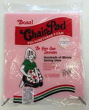 """NEW! Bosal Chair Pad Polyurethane Foam Washable 15"""" x 17"""" x 1"""""""