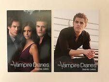 PROMO CARDS: THE VAMPIRE DIARIES 2011 CRYPTOZOIC: 2 DIFFERENT #P2 & #P4 PHILLY