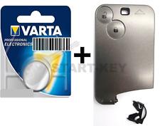 Renault Espace 4 Laguna 2 VelSatis Schlüssel Karte 2 Tasten Batterie button Key
