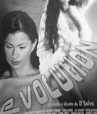 "DVD FILM + COVER ""EVOLUTION"" di D'SALVO - 92 M. - ORIGINALE - PERF.- C. FERRARI"