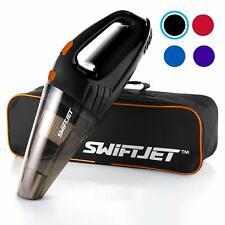 SwiftJet Car Vacuum Cleaner - High Powered 4 KPA Suction Handheld Automotive Vac