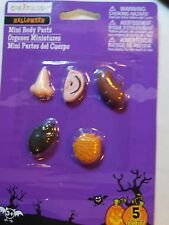New Package Mini Body Parts, Halloween, Party Favors, Plastic, Creatology