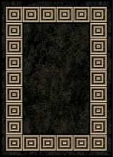 "Black Oriental Area Rug 2X3 Mat Persien Carpet 021 - Actual 1' 7"" x 2' 9"""