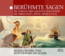 Audiolibro CD famosa dire 9cd BOX incl la Loreley che Nibelungen, RE DA