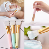 Silicone Face Mask Mud Mixing Applicator Skin Care Brush Beauty Makeup Tools
