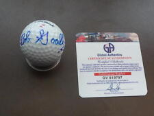 BOB GOALBY AUTOGRAPHED MASTERS GOLF BALL GAI AUTHENTICATED 100 PERCENT AUTHENTIC