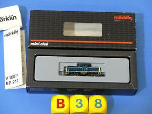 MÄRKLIN Spur Z Nr. 88690 Dieselok BR 212 der DB '212 042-6'  (B38)