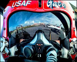 USAF Thunderbirds F-16 Pilot Helmet Close Up 2015 8x10 Photos
