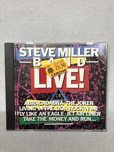 VD Steve Miller Band Live! gebraucht