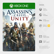 Assassin's Creed Unity (Xbox One) Full Game - Digital Code [GLOBAL, INSTANT]