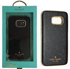 New Original KATE SPADE Wrap Case Saffiano Black / Gold for Samsung Galaxy S7