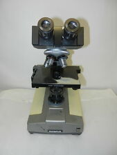 OLYMPUS SINGLE BH MICROSCOPE with OCULAR & OBJECTIVES -5+LENSES (ITEM#S 545 /16)