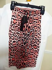BCBG Maxazria Leopard Print Bandage Skirt New with Tags   Size  XS