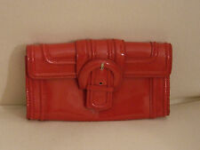 Borsetta a mano pochette vernice rossa fibbia ZARA red patent buckle clutch