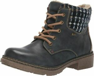 Spring Step Women's Marylee Combat Boot  6.5-7, Navy