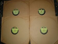 "SET 4 12"" 78RPM RECORDS WESTMINSTER MEDICAL SCHOOL PANTOMINE  1953/4  NEAR MINT"