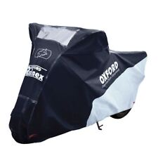 Oxford Rainex Waterproof Outdoor Motorcycle Cover Large Motorbike Rain & Dust