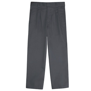 French Toast Boys Pleated Adjustable Pant Gray 14 #RY743-72