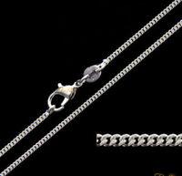 Sterling Silver Solid Link Ladies Figaro Bracelet 7.5 inch 3.1 Grammes.