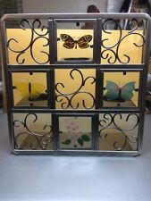 Partylite Butterfly Tealight Metal Easel Candle Holder P7729 ~New In Box~
