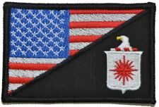 CIA Central Intelligence Agency USA Flag - 2.25x3.5 Patch