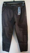 NWT Adidas AdiZero Womens Rain Pants L Charcoal MSRP$200