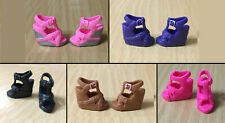 Barbie Doll Fashionistas Platform Wedge Flower Strappy Sandals Shoes - Choose