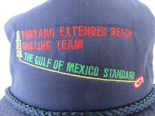 Oil Drilling Roughneck Baseball Cap Hat Pompano Extnd Reach Drilling Team #0922