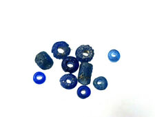 circa.100 - 300 A.D British Roman Period Blue Glass Bead Collection