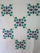 Vtg Antique 1930 Martha's Vineyard Applique Quilt Handmade Unwashed Excellent PA