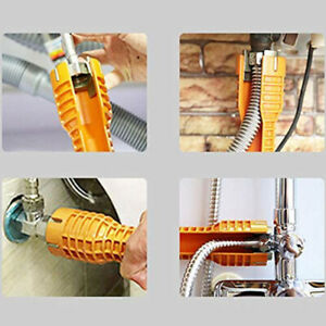 Sink Faucet Installer Socket Wrench,Plumbers Tools Multi-Purpose Spanner Wrenaa