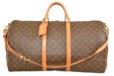 Louis Vuitton Monogram Keepall 60 Bandouliere Travel Bag / Strap M41412 - G00696