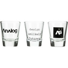BURTON snowboard ANALOG AG SALUTE 3 PACK SHOT GLASSES NEW old stock in box