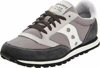 Saucony Originals Men's Jazz Low Pro Classic Sneaker, Grey/White, Size 10.5 JwEF