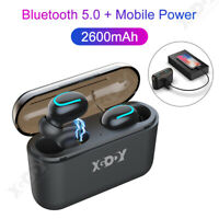 Bluetooth 5.0 Headset TWS True Wireless Earphones Mini Earbuds Stereo Headphones