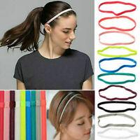 Unisex Stirnband Elastic Haarband Sport Yoga Kopfband Haarschmuck· Stretch L9B0