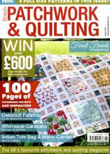 Patchwork & Quilting magazine #259 - Whimsical Caravanes, Indian Sac Fourre-tout