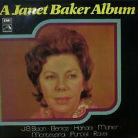 HQS 1294 A Janet Baker Album Bach Berlioz Handel Mahler  1973 Stereo NM/EX