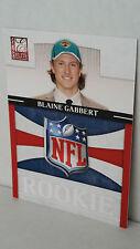 2011 Donruss Elite Rookie NFL Shield #29 BLAINE GABBERT /999 !