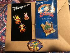 Disney Lot Of 5 Tigger Pins Winnie The Pooh Eeyore Piglet