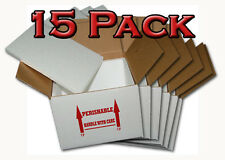 "Insulated Shipping Box  7"" x 7"" x 6""  - 15 Pack   With  1/2"" Foam"