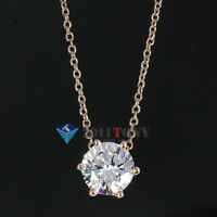 Hexagon Pendant Chain Necklace 18K Rose Gold GP Use Swarovski Crystal Jewellery