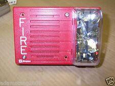 SIMPLEX 4903-9144 25 VOLT FIRE ALARM SPEAKER STROBE 110 CD