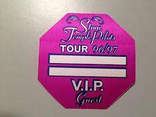 Stp 96/97 Tour Unused Vip Pass Rare Sticker / Decal