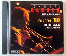 CD - CHRIS BARBER Jazz & Blues Band - CONCERT ´80