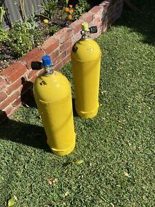 Scuba tank cylinders