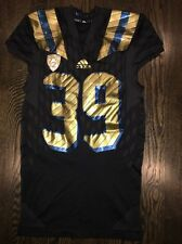 """Game Worn UCLA Bruins """"City"""" Football Jersey Used adidas #39 Size L"""