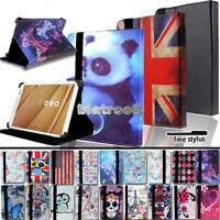 """For Various 9.7"""" 10"""" Asus ZenPad Tablet -Smart Stand Leather Cover Case + Stylus"""